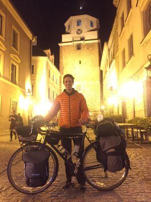 Me, my bike, and Lublin