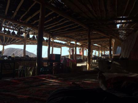 The abandoned bazaar near the Toyuq Thousand Buddha caves