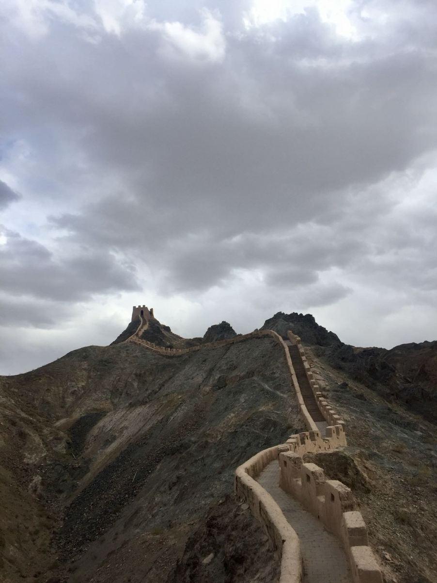 The Great Wall at Jiayuguan