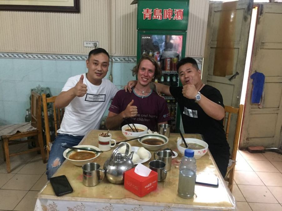 The guys who bought me dinner