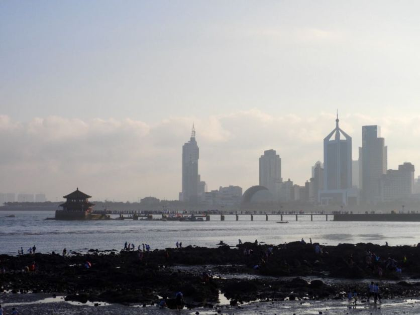 The city of Qingdao