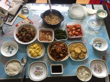 Mrs Cho's homecooked food
