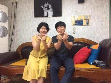 Felix and his mum, Mrs Cho