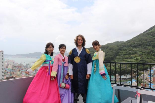 Me in the Hanbok