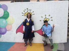 Me with Felix in my Hanbok
