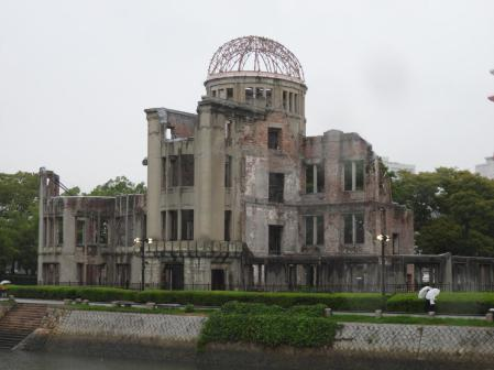 Hiroshima: The rain was fitting