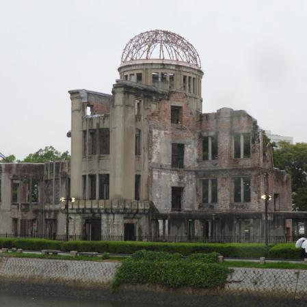 Hiroshima: The rain was fitting
