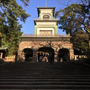 Ominami shrine in Kanazawa