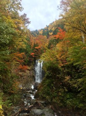 The stunning Japanese alps in autumn